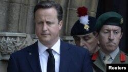 Ұлыбритания премьер-министрі Дэвид Кэмерон. Бэри, 12 шілде 2013 жыл