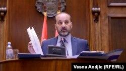 Saša Janković u Parlamentu Srbije