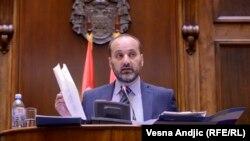 Saša Janković na sednici Odbora za kontrolu službi bezbednosti