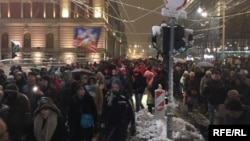 Protest u Beogradu, 15. decembar