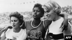 Чемпионки Римской Олимпиады-1960 в беге.