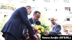 Beograd: Spomen - ploča za Brice Tatona