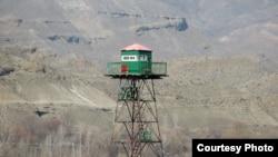 Наблюдательная вышка на армяно-турецкой границе