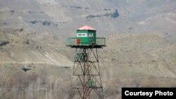 Пограничный наблюдательный пост на армяно-турецкой границе