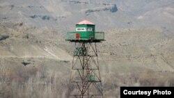 Наблюдательный пункт на армяно-турецкой границе близ армянского села Багаран