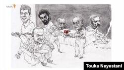 از دردها و عاشقیها در مهمانی حامد نیکپی