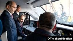 Վարչապետ Նիկոլ Փաշինյանը արագընթաց գնացքով մեկնում է Գյումրի, 5-ը ապրիլի, 2019թ․