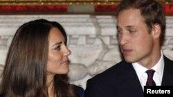 Принц Вільям і його наречена Кейт Міддлтон