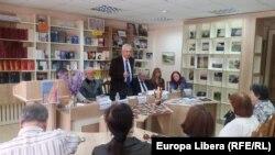 """La Centrul Academic Internațional """"Mihai Eminescu"""""""