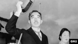 Japanski car Hirohito, arhivska fotografija