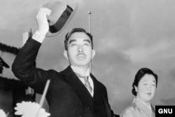 Японский император Хирохито в 1945 году