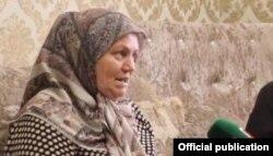 Хутмат Давлетмирзаева, мать Мадины Умаевой