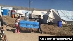 Лагерь беженцев в Ираке. 12 ноября 2014 года.