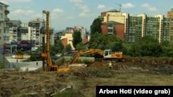 Punimet për ndërtimin e Xhamisë Qendrore të Prishtinës.
