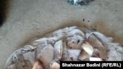 عکسها از بقایای حمله بر رهبر پیشین طالبان