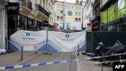 Эпизод расследования на месте одного из происшествий со взрывчаткой в Брюсселе летом 2016 (архивное фото)