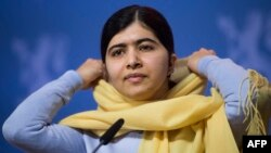 Malala Yousafzai, who is now 17, was awarded the 2014 Nobel Peace Prize.