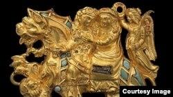 Бактрийское золото из Кабульского музея