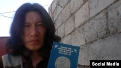 An image from the social-media account of an Islamic State militant called Artyom shows him holding an apparent Kazakh passport.