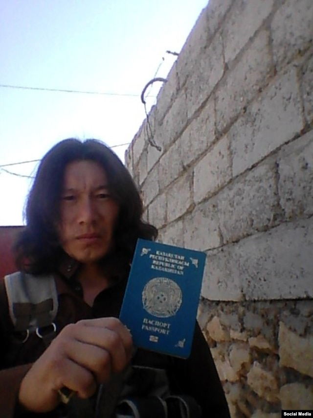 "The Islamic State militant, though to be from Kazakhstan, who is reportedly behind the social-media account ""Artyom."""