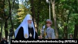 Патріарх Кирило у Севастопольському парку Дніпропетровська