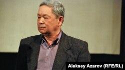 Режиссер документального фильма о Султан-Ахмете Ходжикове Булат Нусипбеков. Алматы, 11 марта 2013 года.