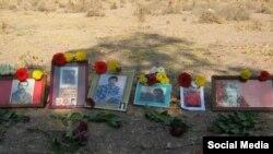 قبرستان خاوران (عکس از شبکه های اجتماعی)