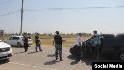 Дорогою до Керченської переправи встановили блокпости, архівне фото