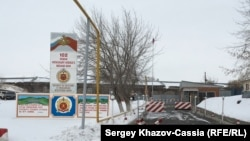 Вход на 102-ю российскую военную базу, Гюмри
