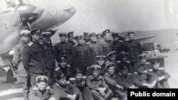 Радянські військові льотчики, Далекий Схід, 1945 рік