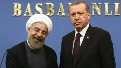 Претседателите на Турција и на Иран Абдула Ѓул и Хасан Рохани