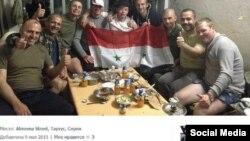 Militari ruși în Siria.