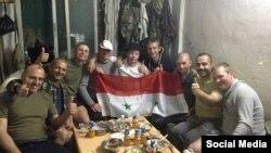 سربازان روس در سوریه، عکس از شبکه های اجتماعی