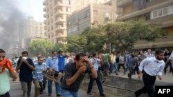 کشته شدن «دهها تن» در حمله نیروهای امنیتی مصر به حامیان مرسی