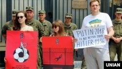 Акция в поддержку Олега Сенцова в Одессе