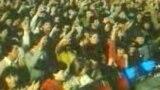 O imagine de la un Cenaclu Flacăra sub regim comunist