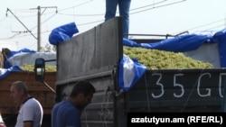 Խաղողագործները բացեցին մայրուղին, բայց մտադիր են վաղը շարունակել բողոքի ակցիան