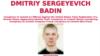 Аб'ява з сайта ФБР пра вышук Дзьмітрыя Бадзіна