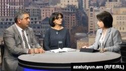 "Armenia -- A screenshot of RFERL TV programm ""Crossroad"". 14NOv., 2016"