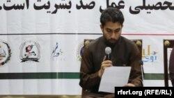 عتیق الله زازی یک فعال مدنی
