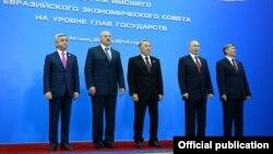 Ղազախստան - Եվրասիական բարձրագույն տնտեսական խորհրդի ընդլայնված նիստը, Աստանա, 29-ը մայիսի, 2014թ.