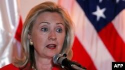 Государственный секретарь США Хилари Клинтон