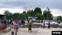 Сели харобиовар дар Кӯлоб дар моҳи майи соли 2010.