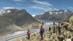 Моќниот глечер, Алеч пред исчезнување