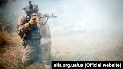 Иллюстративное фото. Боец Центра специальных операций «А» Службы безопасности Украины