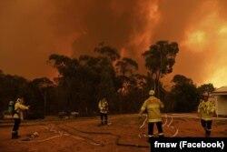 Фото зі сторінки у Facebook пожежно-рятувальної служби штату Новий Південний Вельс (Fire and Rescue NSW)