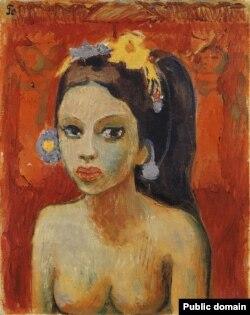 Робэрт Генін. «Жыхарка востраву Балі» (1926)