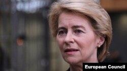 Архивска фотографија- Претседателката на Европската комисија Урсула фон дер Лејн