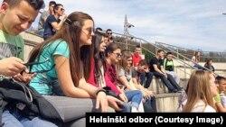 """Učesnici """"Obrazovanja za mir"""""""
