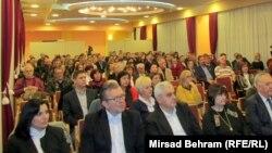 Publika na promociji u Mostaru